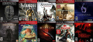 PS3 Games For Sale or Trade - Dead Island, RE6, Ni No Kuni, more