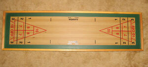 Shuffleboard Game - 45 x 13 inches - Excellent Condition