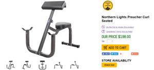 Dips machine + Preacher curl + back extension pour gym maison