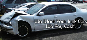 SCRAP CARS - WILL PAY UP TO $2500 $$ (905)516-3050