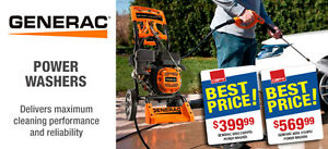 GENERAC POWER WASHER