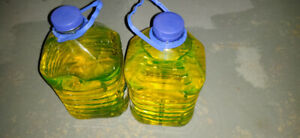 Two jugs of 50/50 Universal Antifreeze (Coolant)