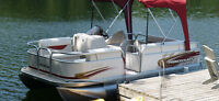 Princecraft 17 foot pontoon boat