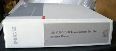 Hp 379b Ds3 Transmission Test Set Service Manual