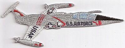 F104 STAR FIGHTER Airplane Aircraft Aviation Collectable Military Patch