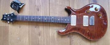 PRS CE 22 Bolt on Fire Red Burst