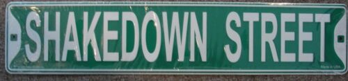 GRATEFUL DEAD SHAKEDOWN STREET SIGN
