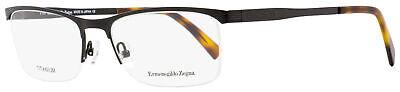 Ermenegildo Zegna Semi-Rimless Eyeglasses EZ5079 005 Matte Black/Havana 55mm (Semi Rimless)