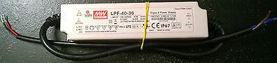 Mean Well Lpf-40-36 Led Power Supply - 40w - 100-240v