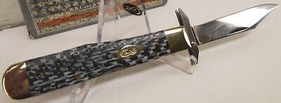 NEW Case XX Black & White Carbon Fiber Cheetah Pocket Knife #38922 Made in USA