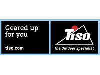 Full Time Sales Assistant - Tiso Glasgow Outdoor Experience store