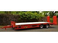 Low Loader Trailer For Hire .