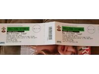 Rolling Stones tickets x 2 Southampton 29th May