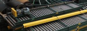 "UNIVEYOR 30"" Wide-Roller Conveyor With A Sew/Euro Drive Motor"