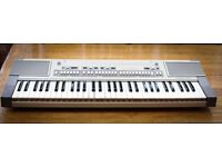 Rare - Casiotone 610 Electric Keyboard & Stand
