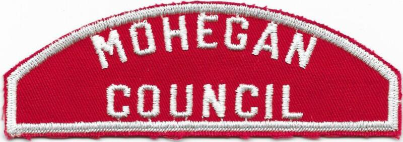 Mohegan Council RWS Red and White Strip Boy Scouts of America BSA