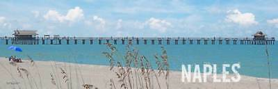 - Naples Pier Florida Home Decor Art Sign Printed On Real Wood NAP1M