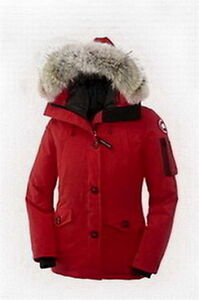Women Montebello Parka Red Canada Goose
