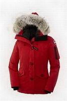 Women Montebello Parka Red Canada Goose