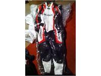 Suomy road Race motorbike motorcycle leathers