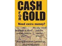 We Buy Gold!!!