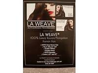 L.A. WEAVE AND MICRO WEAVE HAIR EXTENSIONS