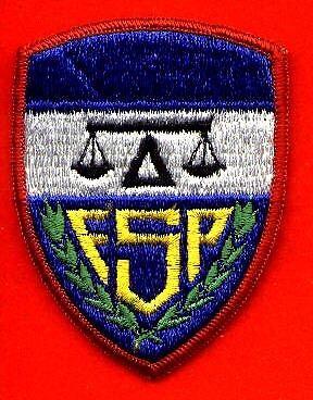 ORIGINAL HONDURAS NATIONAL SECURITY POLICE FUSEP PATCH