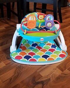 chaise fisher price pliante pour bébé