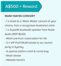 MASH MUSIC PARTY + CONCERT Bondi Eastern Suburbs Preview