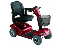 Invacare Leo 4-Wheel Scooter, great condition, popular, red, for senior boy/gal racers!