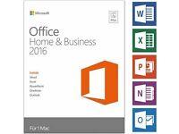 Microsoft Office 2016 Home & Business Mac & WINDOWS Genuine