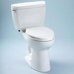 Drake 1.6 GPF Elongated 2 Piece Rough-In Toilet by Toto - Brand New