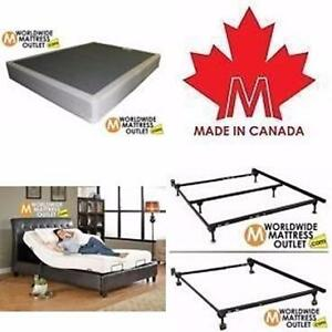 Bed frames, Box Springs and Adjustable Beds ***** Rock Bottom prices***** In Moncton