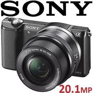 NEW SONY A5000 20.1MP CAMERA ILCE-5000L 134210561 DIGITAL CAMERA with 16-50mm Lens