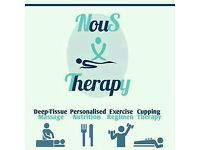 Nous Therapy Nutrition & Sports Massage