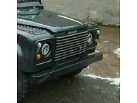 Defender galvanised bumper