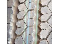 Brand new tyres on rims x2