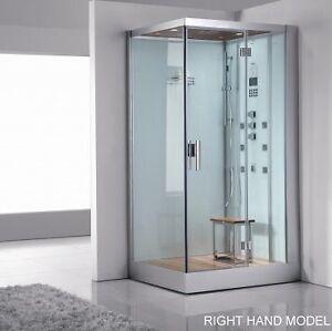 Steam Shower 47.25″x35.4″x89″ DZ959F8-W