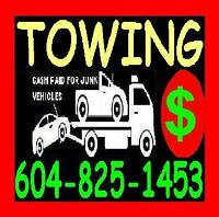 #1 TOWING*CAR*TRUCK*VAN*4X4*BURNABY*NEW WESTMINSTER*LWR MAINLAND