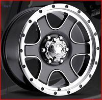 Ultra Wheels - Nomad Anthracite Gris w/diamond cut 15 x 8  5-114