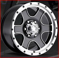 Ultra Wheels - Nomad Anthracite Gris w/diamond cut 16 x 8  6-139