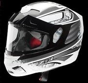 Black Snowmobile Helmet