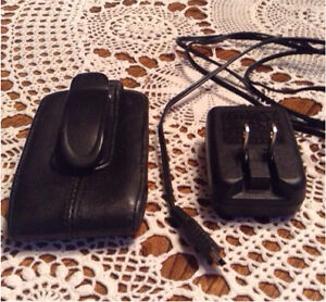Blackberry case and charger
