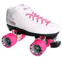Riedell R3 Roller Derby Skates - Ladies Size 8 Aus - White