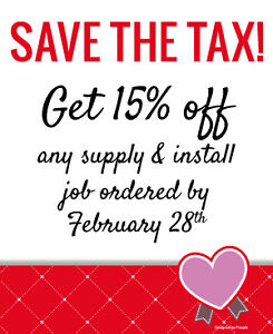 Maritime Countertops **FEBRUARY SPECIAL - SAVE THE TAX!**