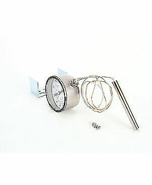 Silver King 20361 Round Thermometer With Bracket And Screws Part
