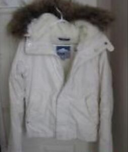 All white TNA winter jacket need gone ASAP