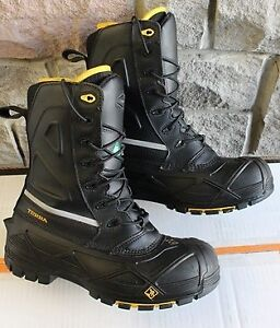 """Terra composite toe Boots safety size UK 9 or EU43 US 10 8"""" hee"""