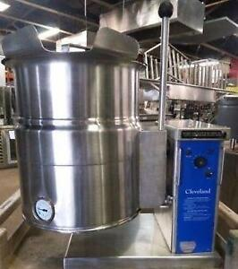 6 Gallon Counter-top Commercial Electric Steam Kettle