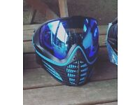 Limited Edition Blue/Black Paintball Mask, Perfect condition not used. OFFER